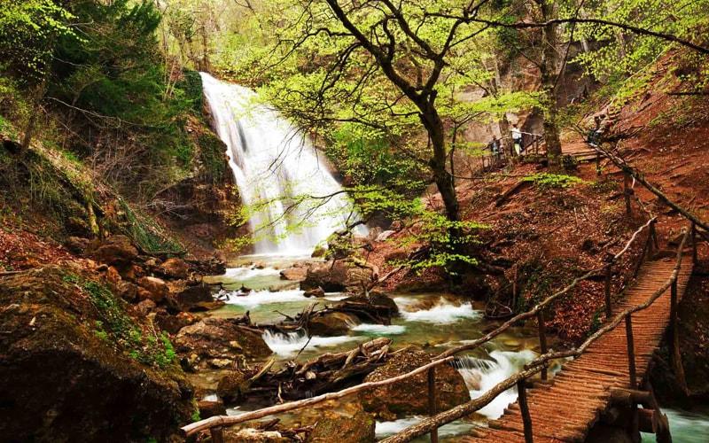 экскурсия на водопад Джур Джур из Феодосии