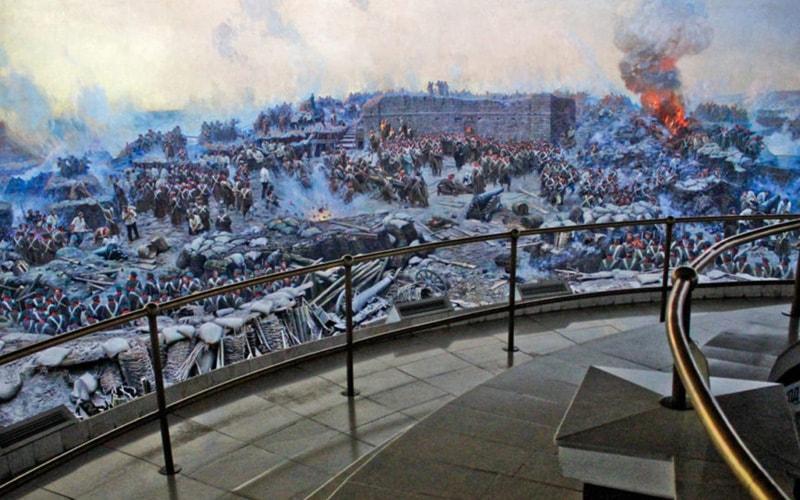 Панорамы 1-й обороны Севастополя