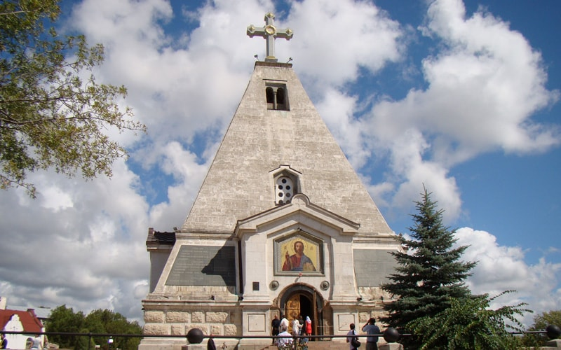 Свято-Никольский храм-пирамида