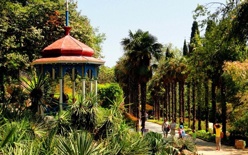 экскурсия никитский ботанический сад из феодосии