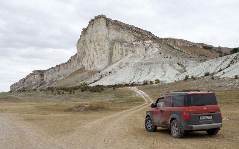Экскурсия на Белую скалу Ак Кая из Феодосии