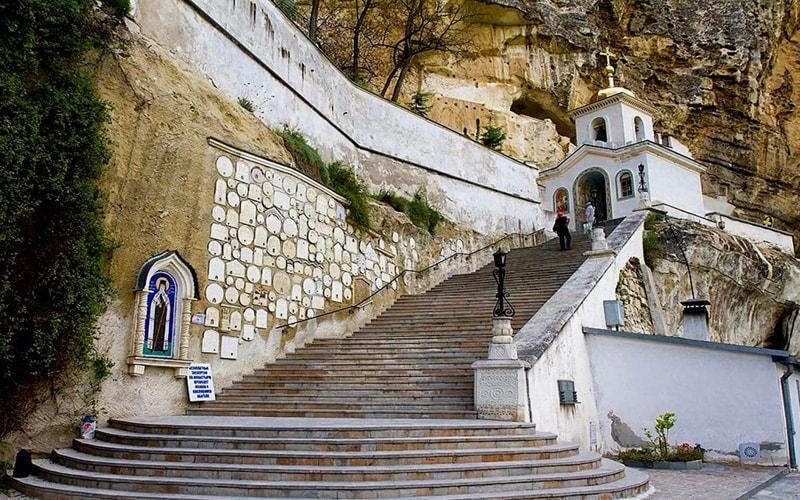 экскурсия Свято Успенский пещерный мужской монастырь из феодосии