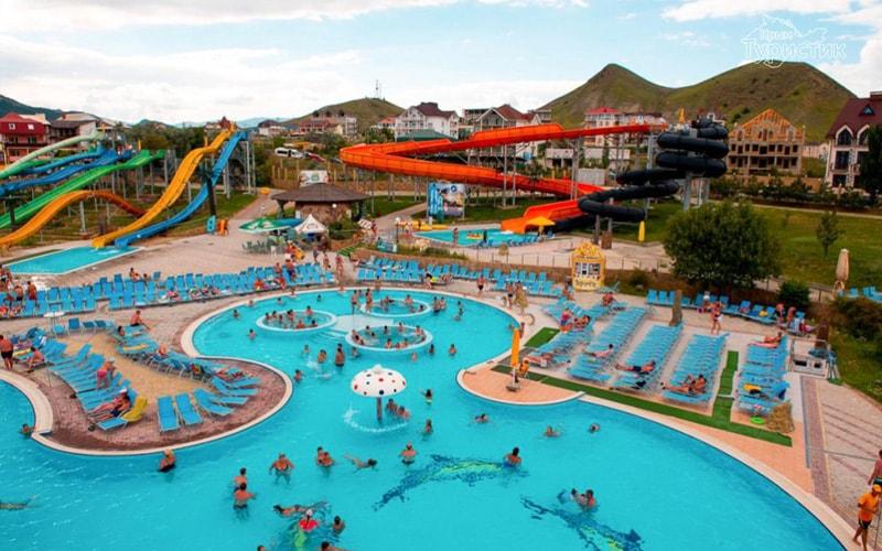 Экскурсия в аквапарк в Коктебеле из феодосии