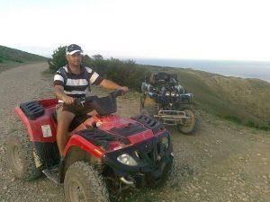 Прогулка на квадроциклах в Феодосии
